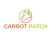 Carrot Patch Logo - Carrot in a circle with coy name below