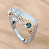 Progile pic for Trezoro jewlrey - picture of beautiful ring - rhodium gold plated